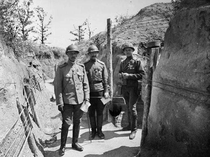 Le corps expéditionaire russe en France Diapos27