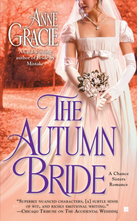 Chance Sisters - Tome 1 : The Autumn Bride d'Anne Gracie Cover376