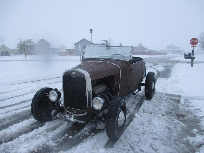 hot rod in snow  Img_0011