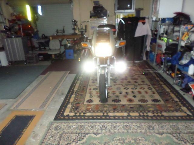 Fork Mounted LED Aux Lights Lights10