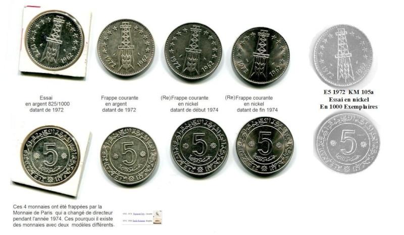 Les pièces de monnaie de l'Algérie indépendante - Page 3 5_dina10