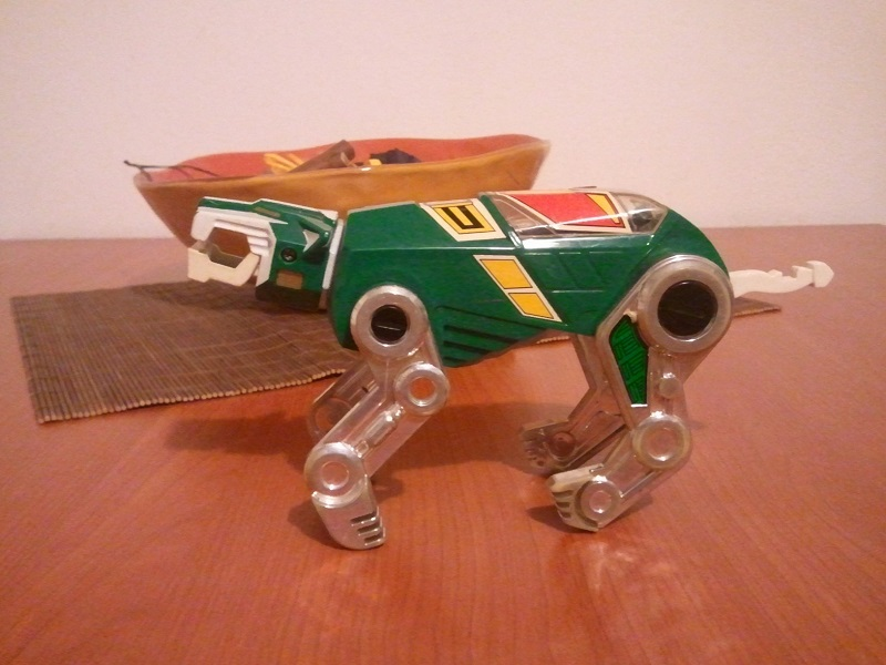 VOLTRON Green Lion PANOSH  Wp_00434