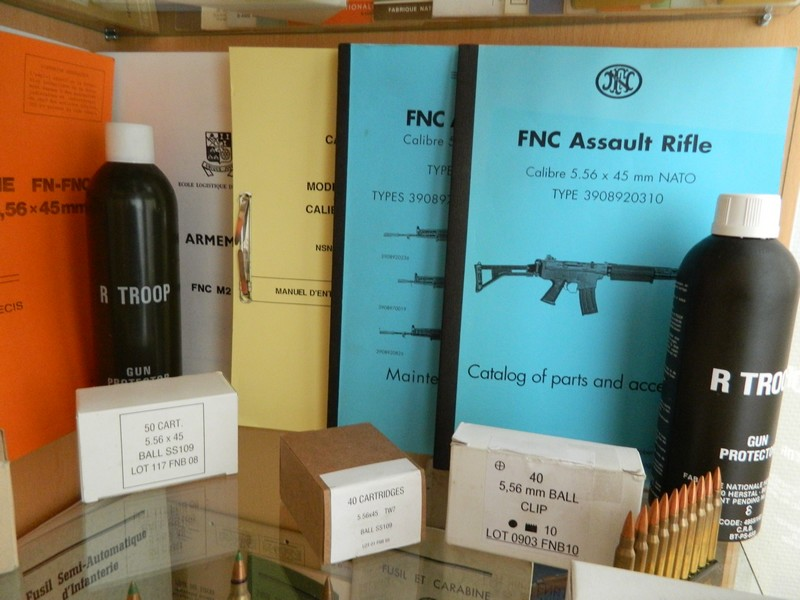 Ma collection de munitions FN 1510