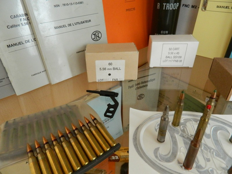 Ma collection de munitions FN 1610