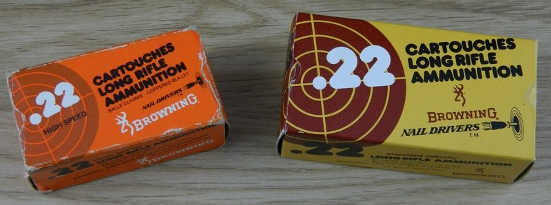 Ma collection de munitions FN 22lr10