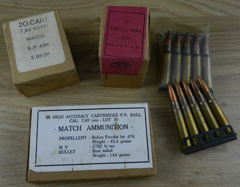 Ma collection de munitions FN 762x5110