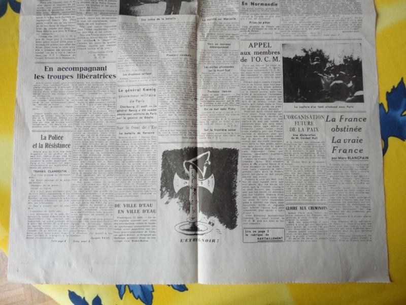 document d'epoque N°2 LIBERATION DE PARIS Dsc06013