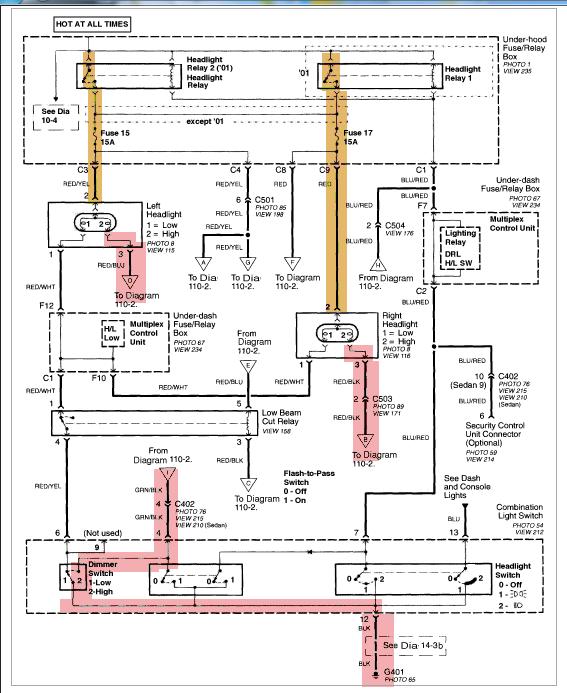 Civic 2002, problème de lumière de jour (DRL) High_b10
