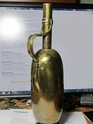 Italian made Copper or Brass decanter 2 hallmarks 03511