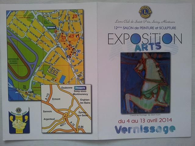 Du 4 au 12 avril - exposition à l'orangerie de Soisy 20140311