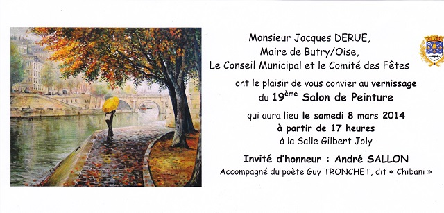 A partir du 8 mars à 17 h (vernissage) Expo de Butry Expo_b10
