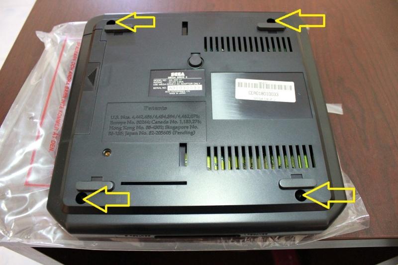 [TUTO] Switches sur Megadrive 2 ASIA PAL ou PAL  facile a comprendre Img_0029