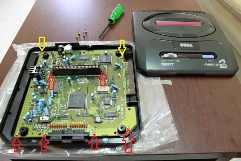 [TUTO] Switches sur Megadrive 2 ASIA PAL ou PAL  facile a comprendre Img_0030