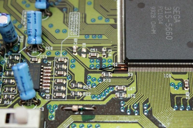 [TUTO] Switches sur Megadrive 2 ASIA PAL ou PAL  facile a comprendre Img_0031
