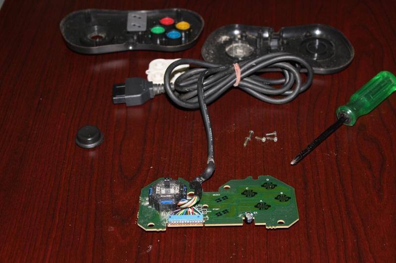 [TUTO] Refaire un pad Neo Geo CD qui ne reagit plus ou mal Img_0284