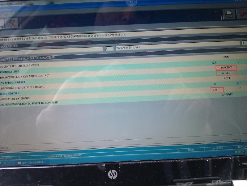 probleme tous les calculateur non detecté Imag0011
