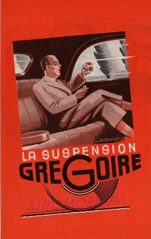 suspension grégoire pour traction Z-b20010