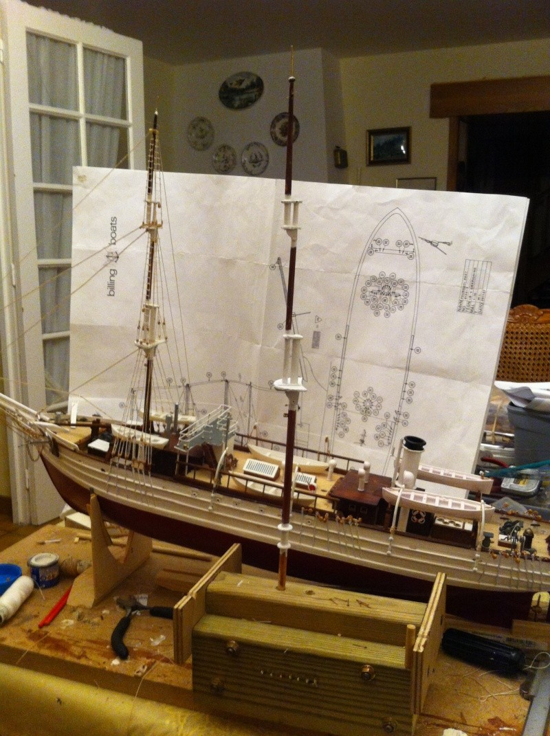 Le Pourquoi Pas, au 1/75ème - Billing Boat,  - Page 2 2014-010