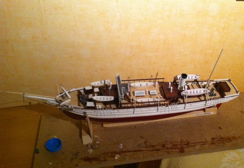 3-mâts barque Pourquoi-Pas? 1908 (Constructo 1/80°) de claude83 - Page 2 Photo10