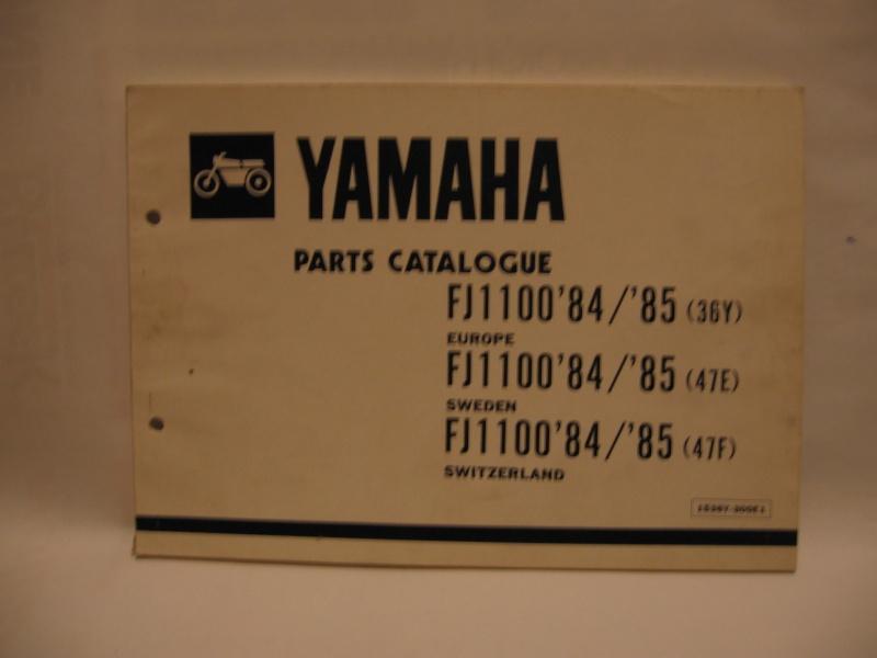 Parts list FJ1100 36Y Img_0910