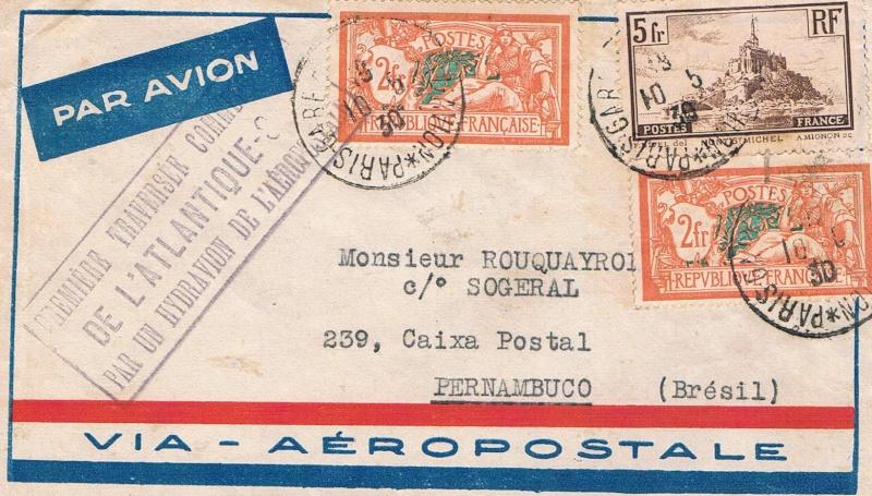 Flugpost Frankreich, wer weiß etwas dazu? Cci23013