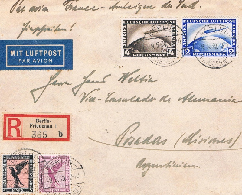 Flugpost Frankreich, wer weiß etwas dazu? Cci23016