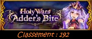 "Résultats Holy Wars XIV ""As One"" Hw21cl10"