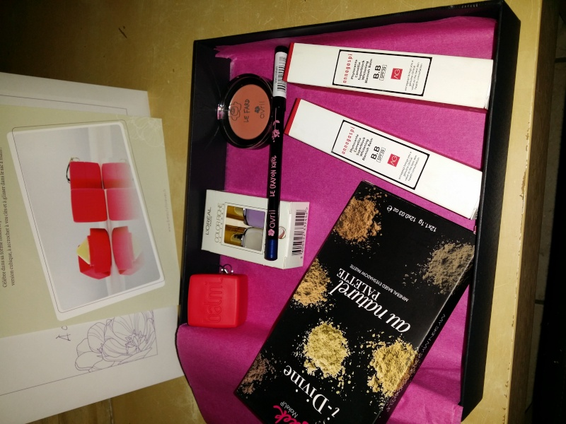beauty forever box de mars 20140411