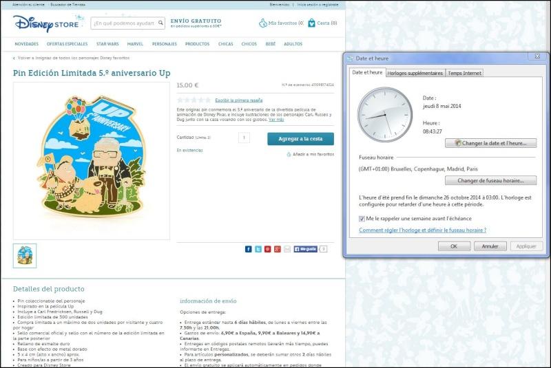 Le Pin Trading à Disneyland Paris - Page 4 45214