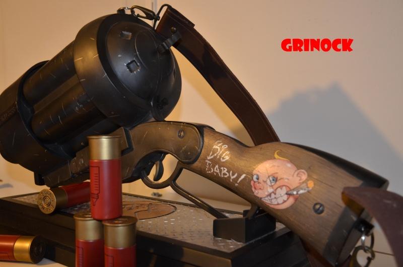 Collect n°469 Grinock : LOTR, STAR WARS, Cinemaquette - Elite Creature NEWS p 8 Baby_g12