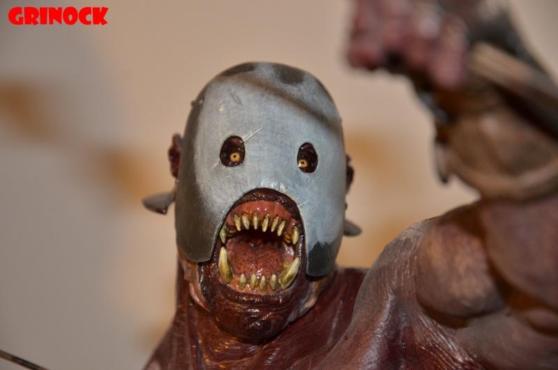 Collect n°469 Grinock : LOTR, STAR WARS, Cinemaquette - Elite Creature NEWS p 8 Uruk_b15