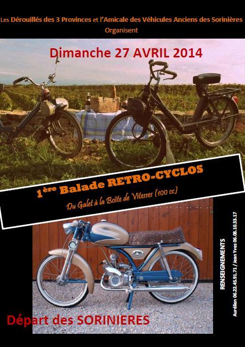 Rando mob solex et moto 100cc aux Sauriniéres 27 avril 2014 2014_l10