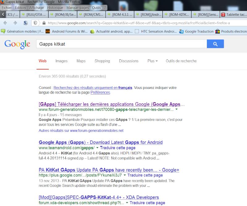 [NON MIS À JOUR][GOOGLE APPS PACKAGES] Centralisation des packages d'applications Google | GApps - Page 3 Rafare10