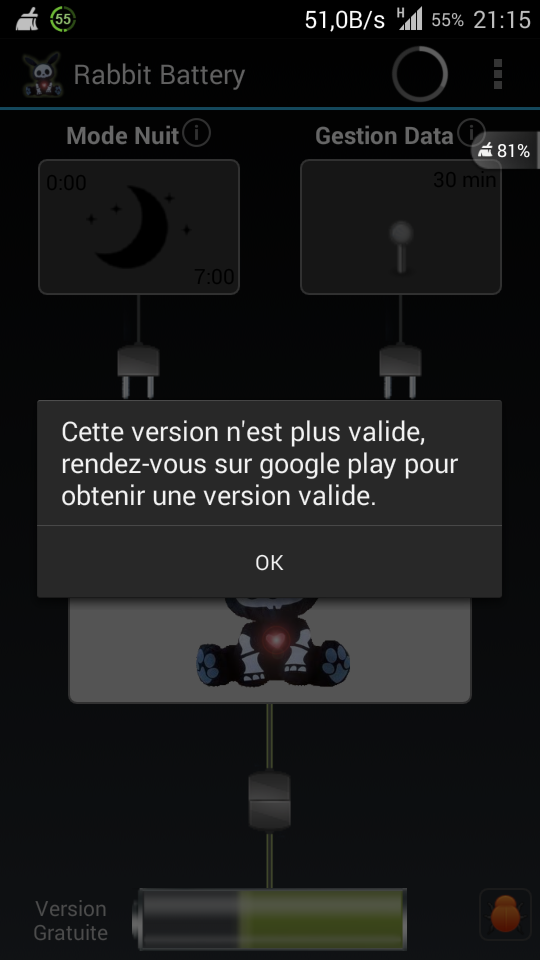 [APPLICATION ANDROID - RABBIT BATTERY] Gérer sa batterie [gratuit/payant] - Page 7 Screen18