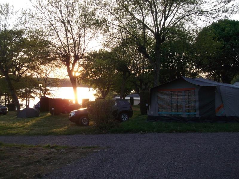 """Camping """"La plage du midi"""" lac des Settons 20140514"""