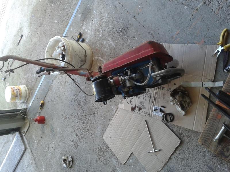 Motozappa barbieri con motore minarelli 20131021