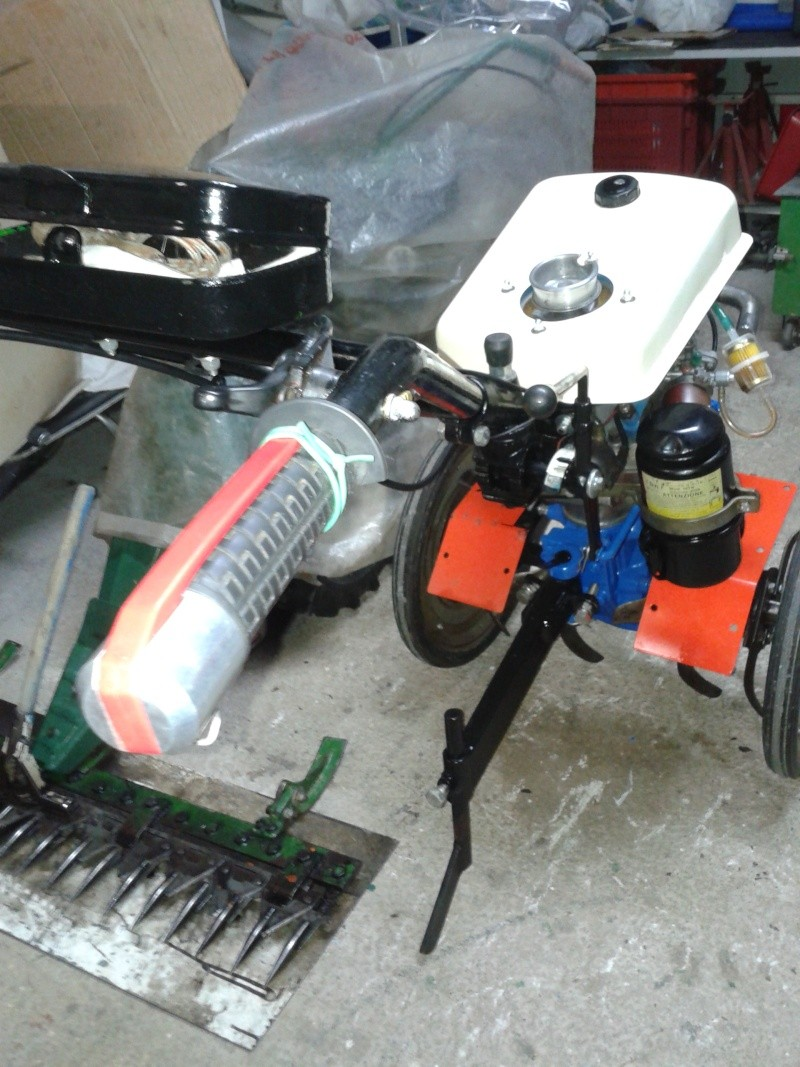 Motozappa barbieri con motore minarelli 20131133