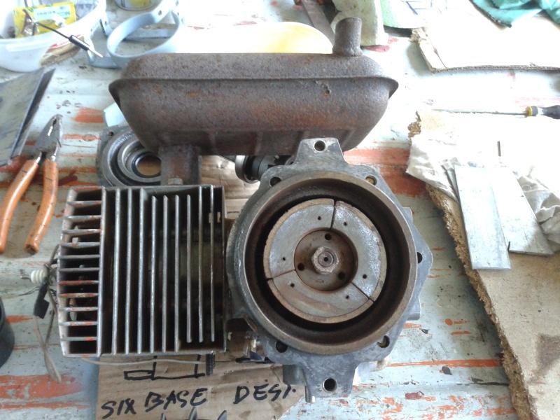 Motozappa benassi con motore minarelli  20131248