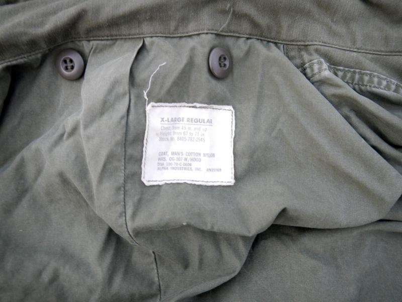 Vietnam era M65 Dscn0429