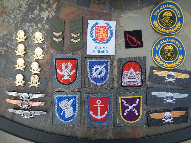 FDF patches and insignia Finn_210