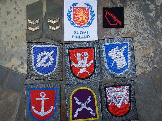 FDF patches and insignia Finn_211