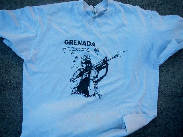 Soldier of Fortune Grenada t shirt Norweg41