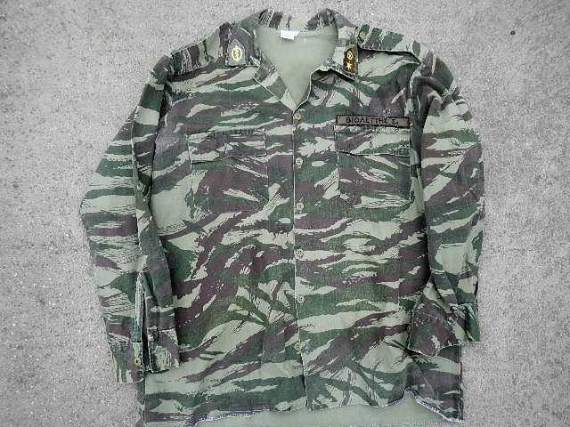 Lizard Shirt,Modified?? Need ID on the patches/insignia please. Pekka_10