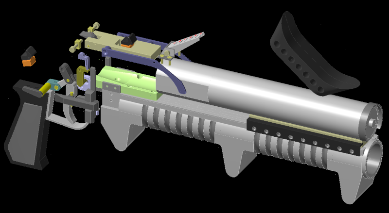 GM-94 grenade launcher homemade - Page 6 Avance12