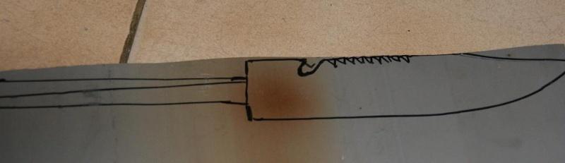 Tuto Fabriquer un couteau spécial airsoft en PVC Coutea12