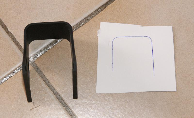 Tuto Fabriquer une protection de viseur holographique. Porote23