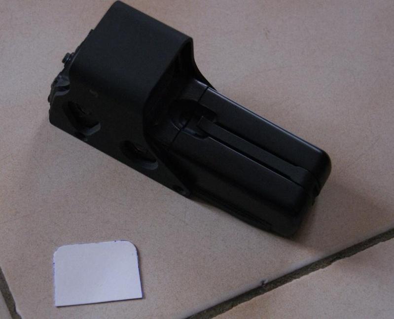 Tuto Fabriquer une protection de viseur holographique. Porote25