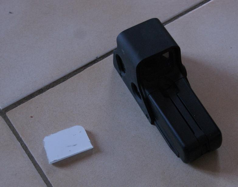 Tuto Fabriquer une protection de viseur holographique. Porote29