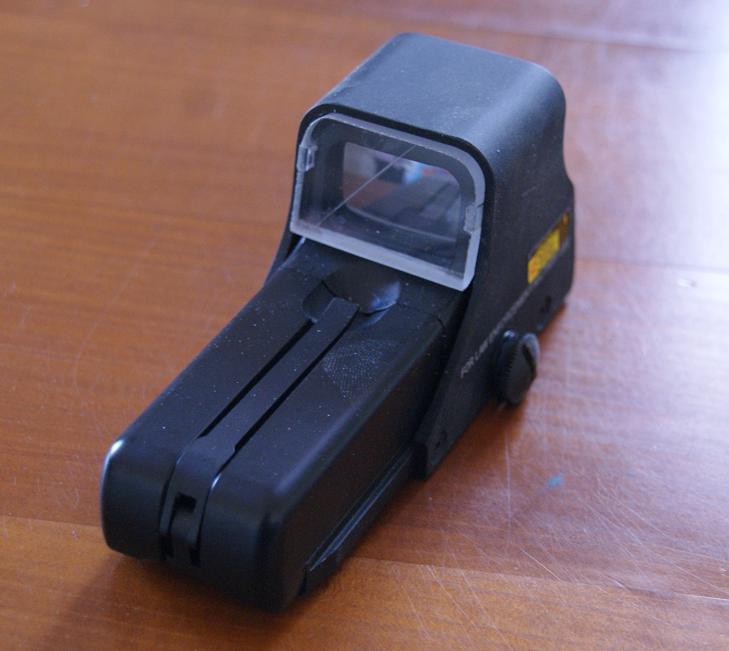 Tuto Fabriquer une protection de viseur holographique. Porote34