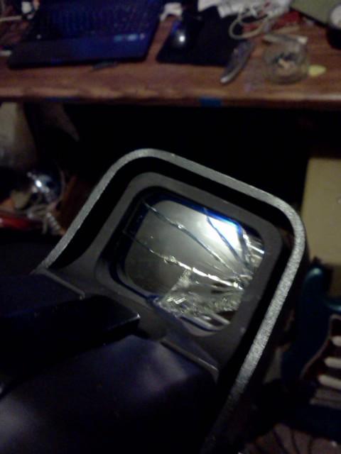 Tuto Fabriquer une protection de viseur holographique. Sbwrwl10